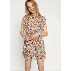 Zara Basic Collection Floral Print Dress Size XS
